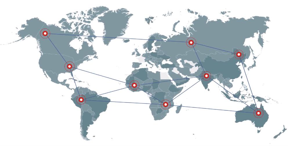 hide.me VPN load balancing mapped
