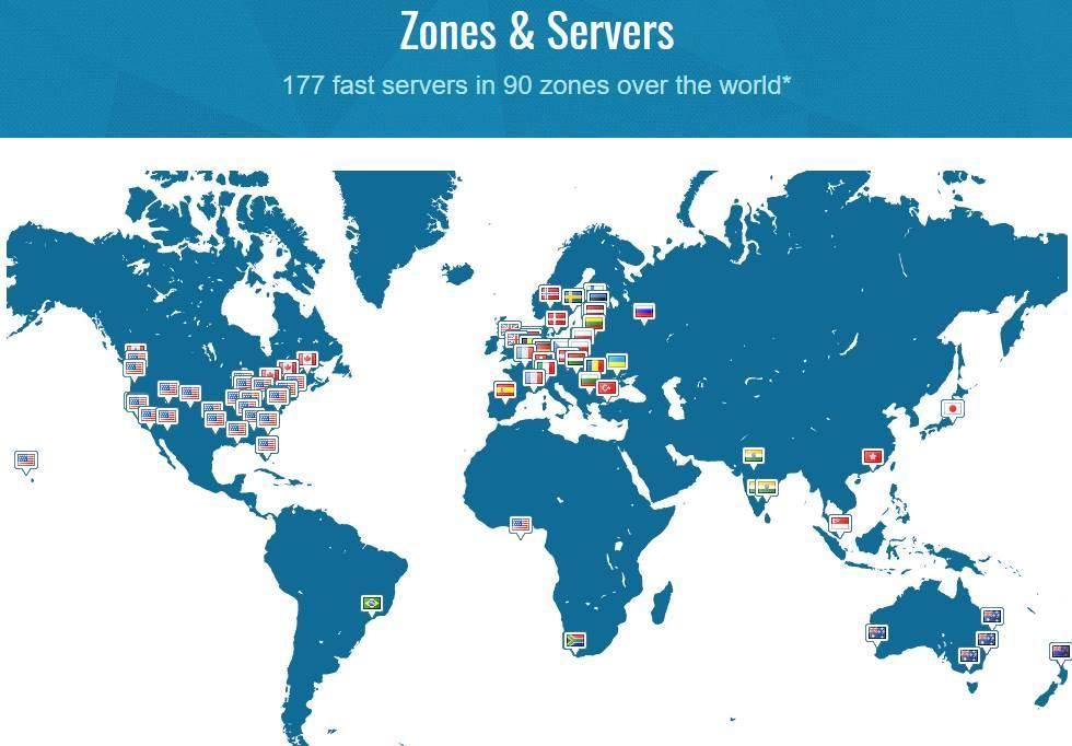 Trust Zone servers
