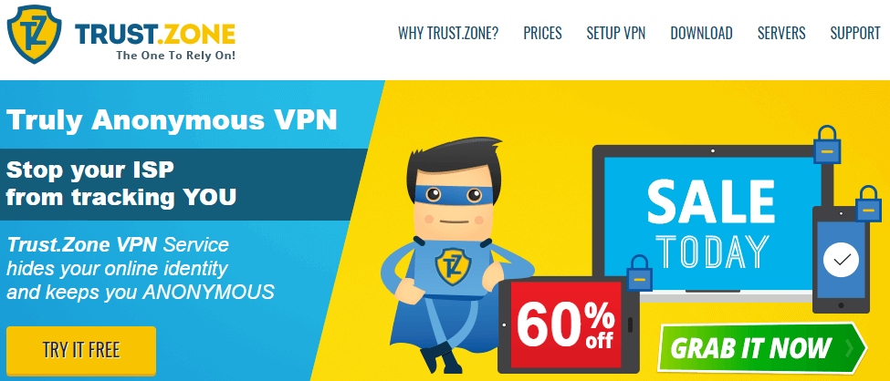 TrustZone VPN Review