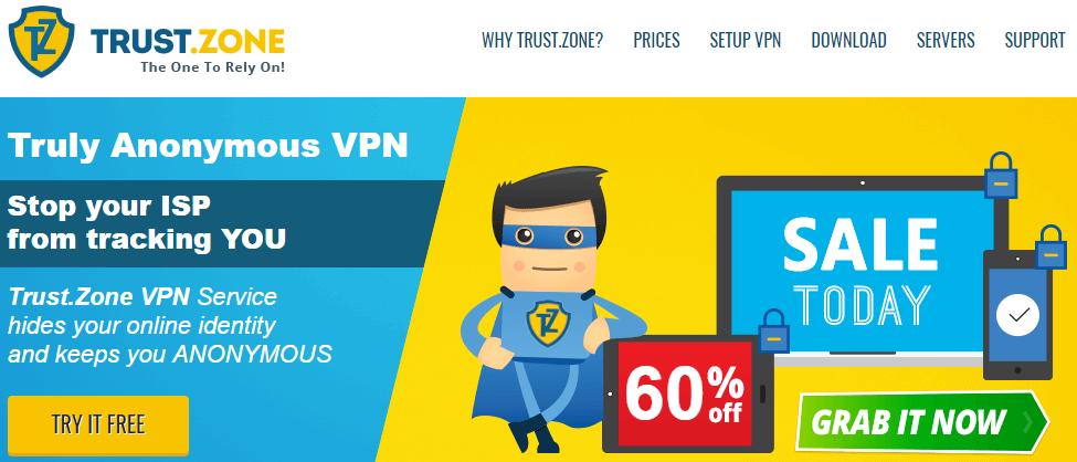 TrustZone VPN Review