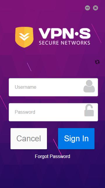 VPNSecure login