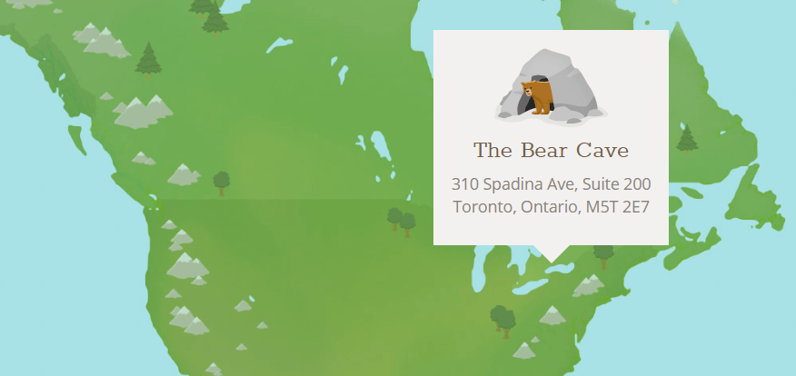 TunnelBear VPN business location