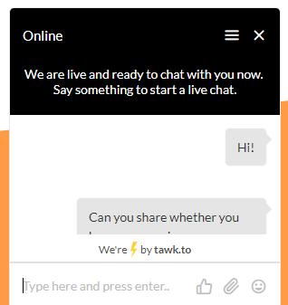 Celo VPN live chat