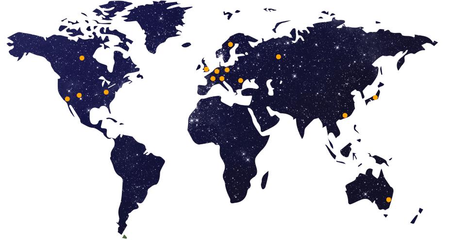 Celo VPN server map