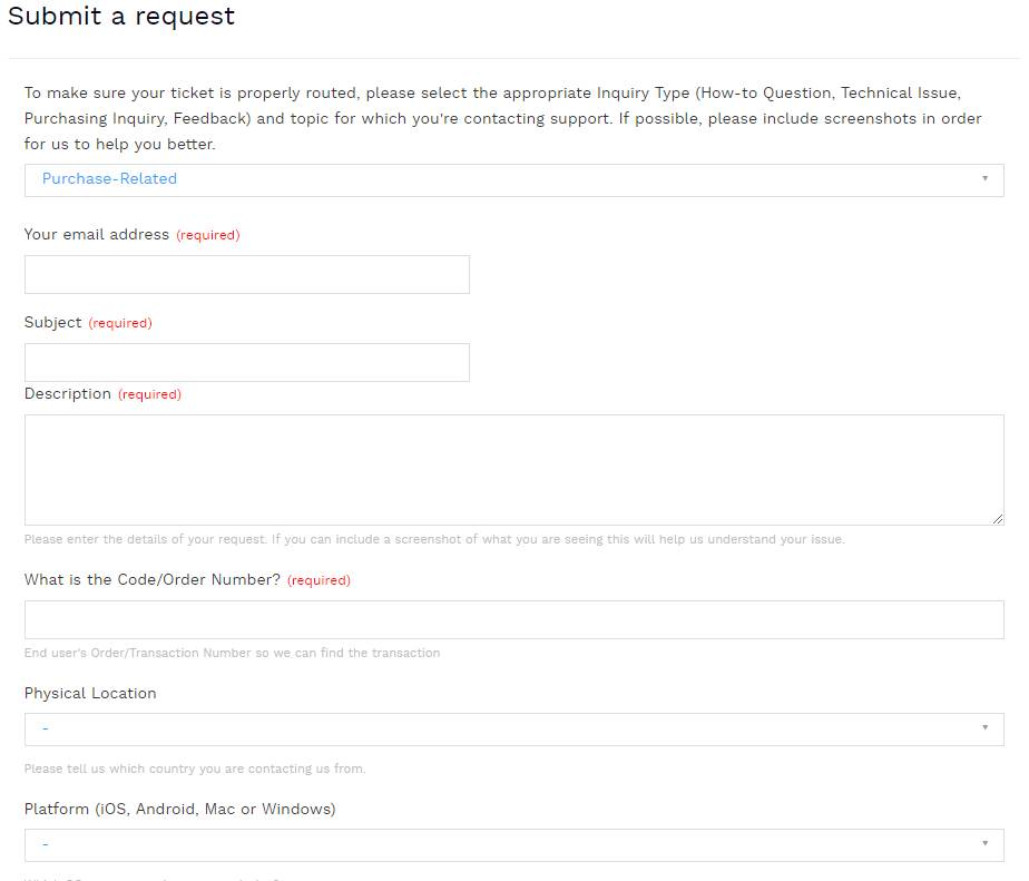 hotspot shield refund request form