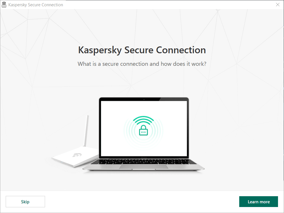 Kaspersky Secure Connection VPN app