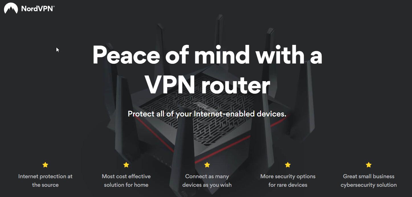 NordVPN router