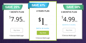 OneVPN old pricing and plans