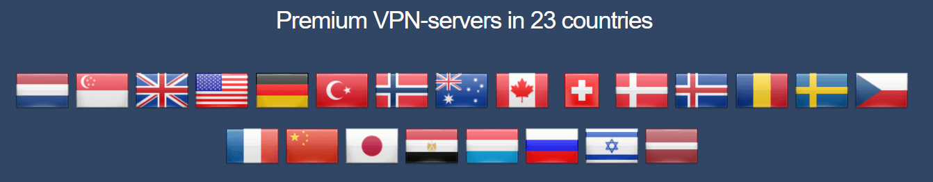 Perfect Privacy VPN servers and locations