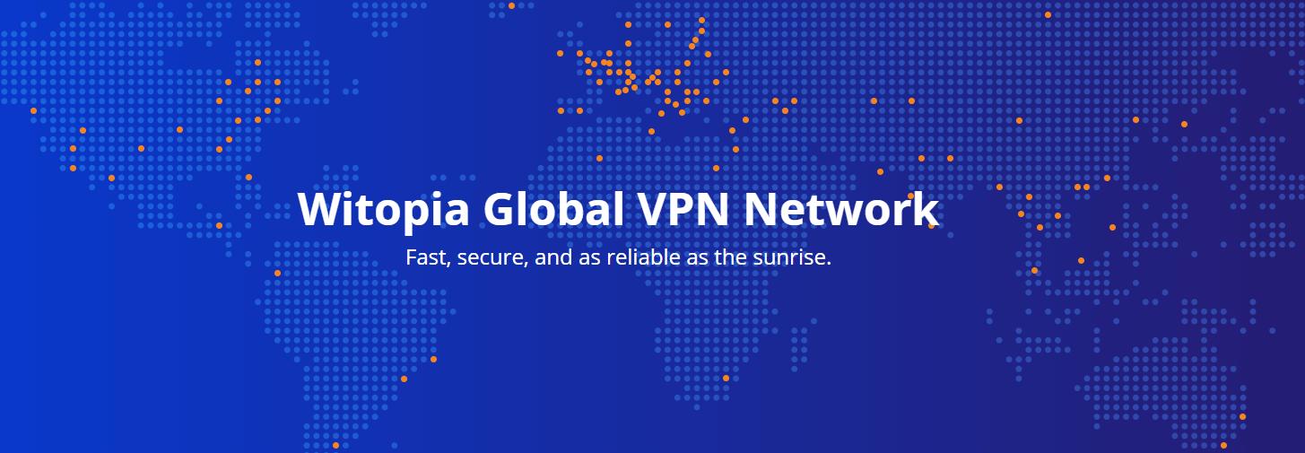 personalVPN servers map