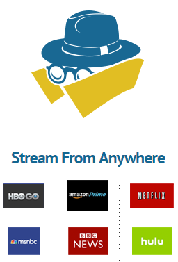 slickvpn streaming options