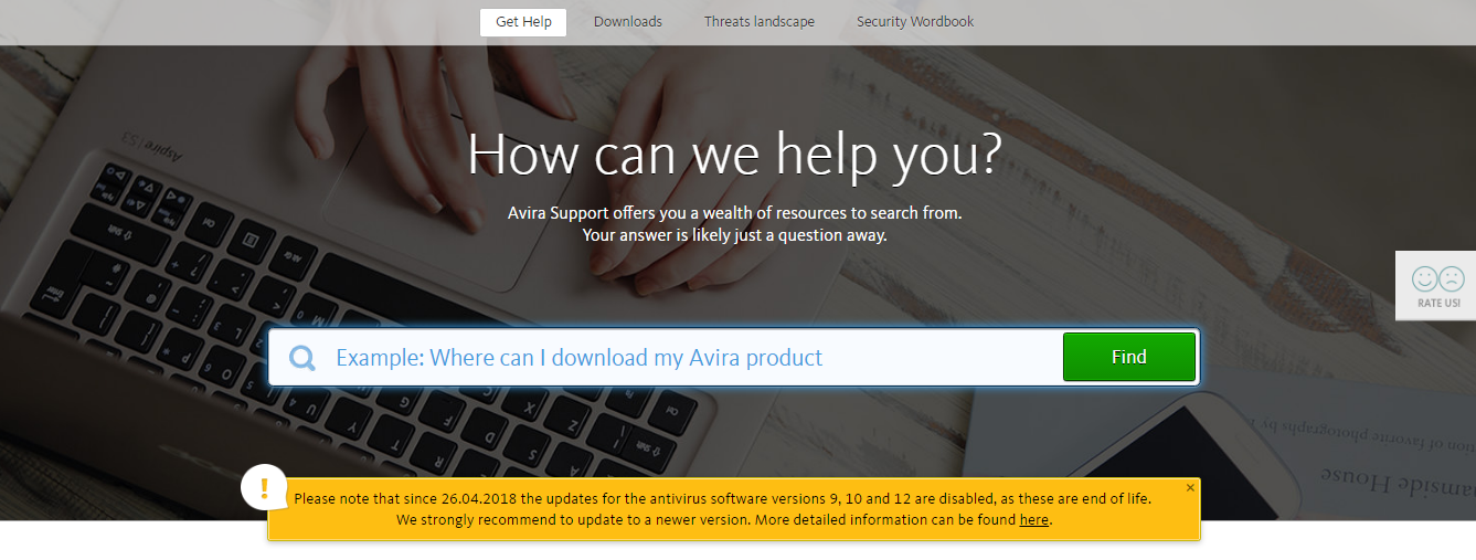 Avira knowledge base