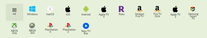 CactusVPN devices