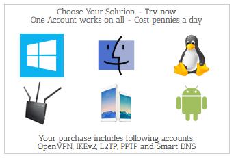 AceVPN device compatibility