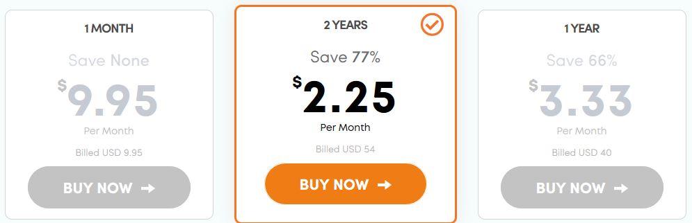 Ivacy VPN cheap price