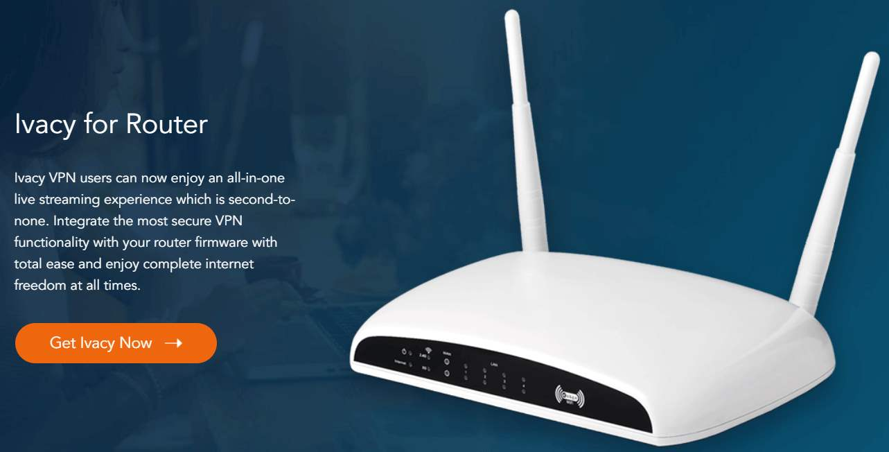 Ivacy VPN router