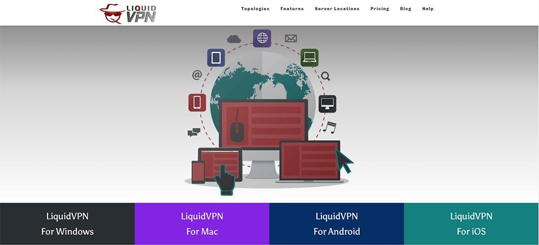 LiquidVPN devices