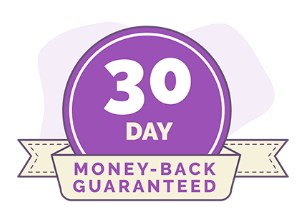 30 day money back guarantee