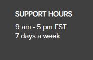 support hours