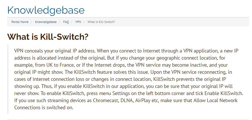 kill switch explained
