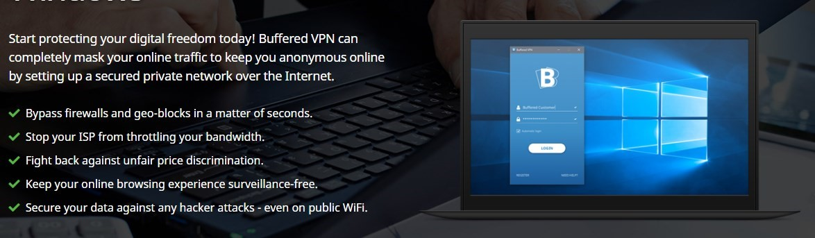 Buffered VPN descriptions