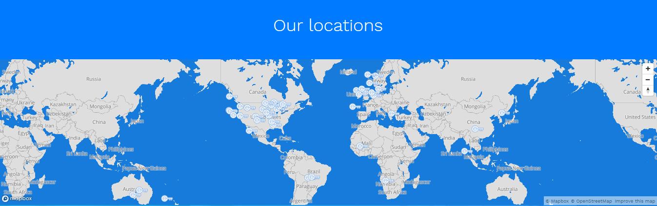 encrypt me server locations