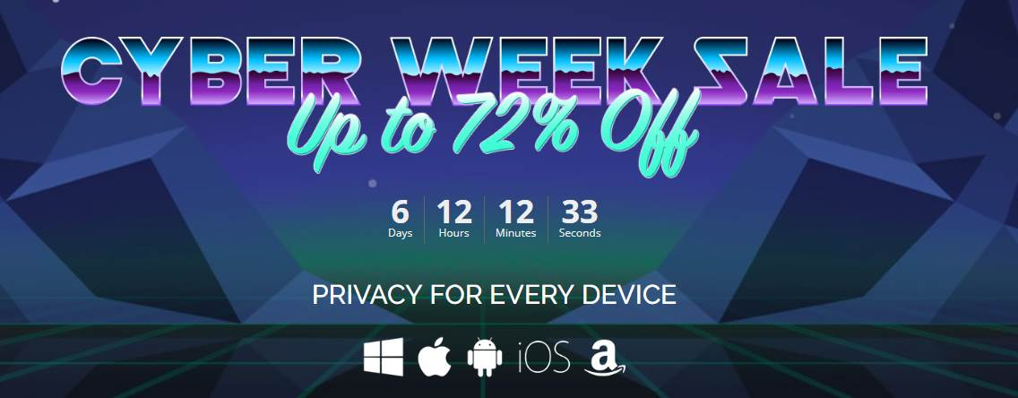 IP Vanish Cyber Week Sale