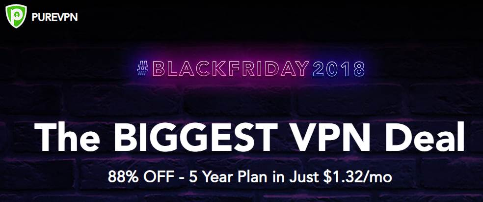 PureVPN Black Friday sale