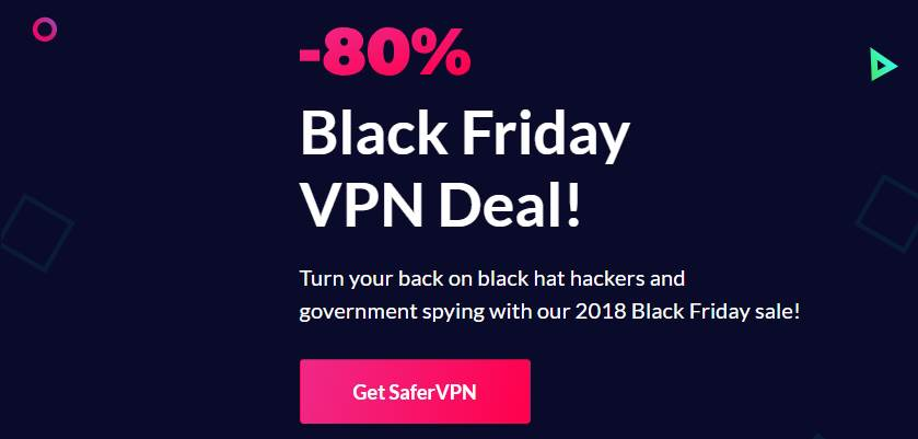 SaferVPN Black Friday deal
