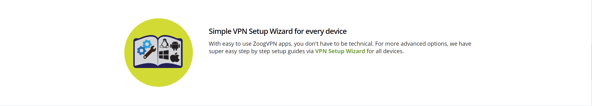 sign up process and setup wizard