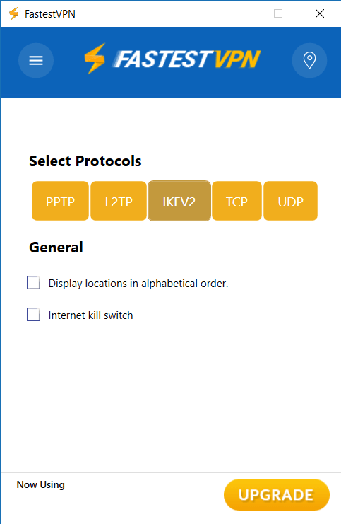 vpn security screenshot