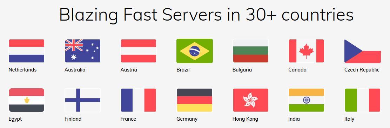 fastestvpn servers
