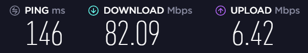 vpn speed test to ny