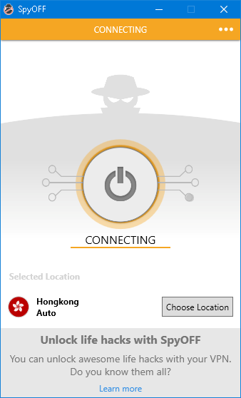 speed test connecting to hong kong