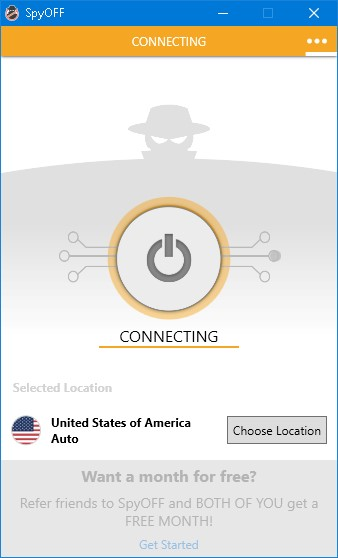 speed test connecting to US