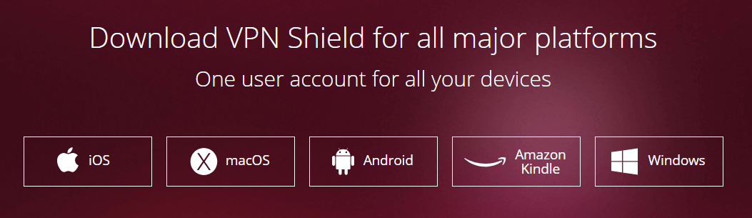 VPN Shield device compatibility