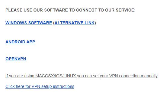 vpnmaster device compatibility