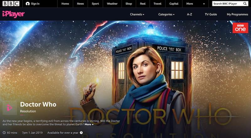 Doctor Who on BBC iPlayer