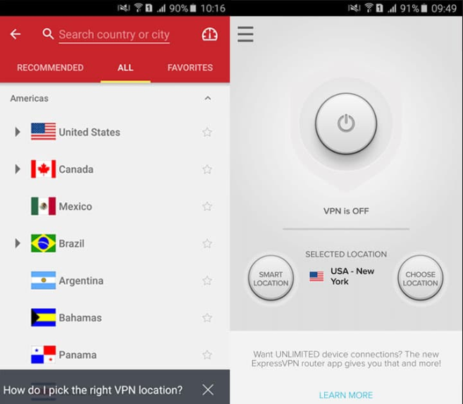 vpn app on mobile