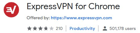 expressvpn chrome web store