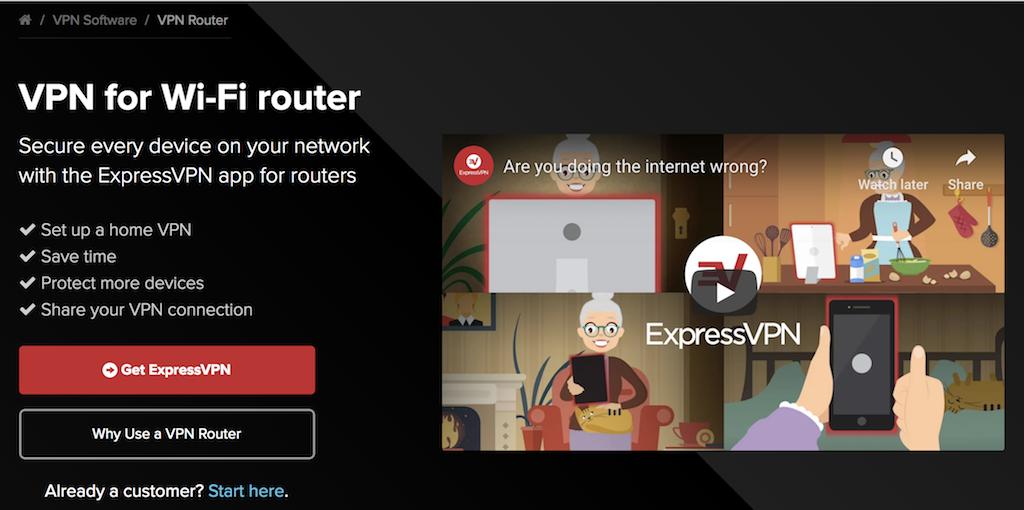 expressvpn router