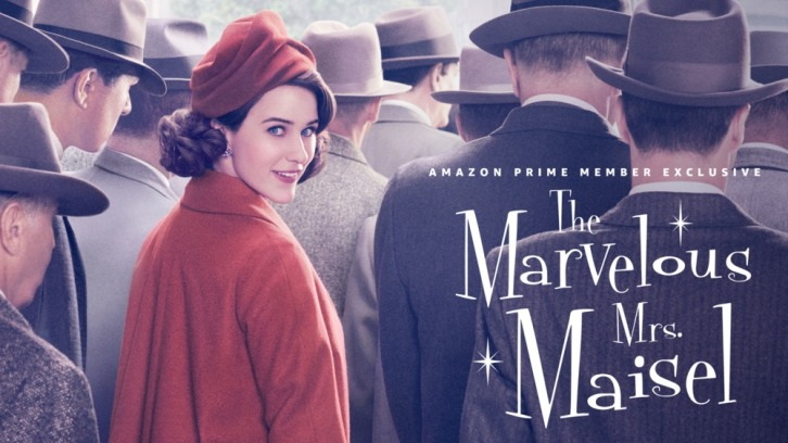The Marvelous Mrs. Maisel header