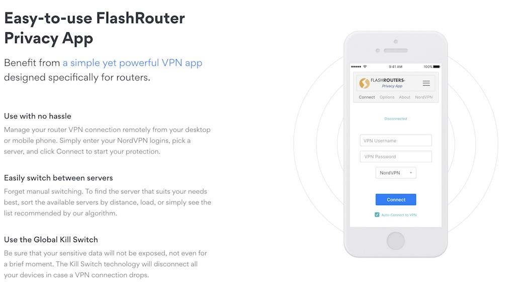 nordvpn router app
