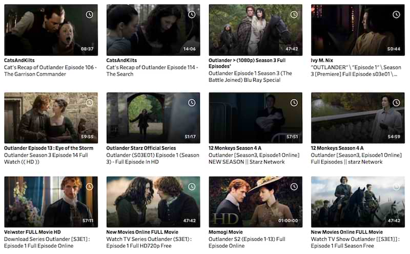 outlander online on dailymotion