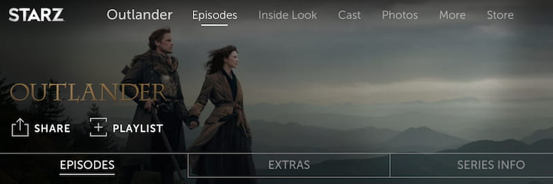 watch outlander online on starz
