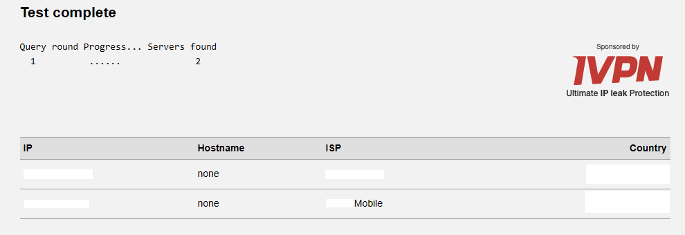 skyvpn dns leak test