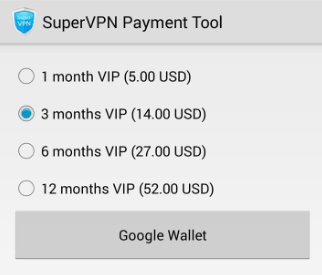 supervpn pricing plans