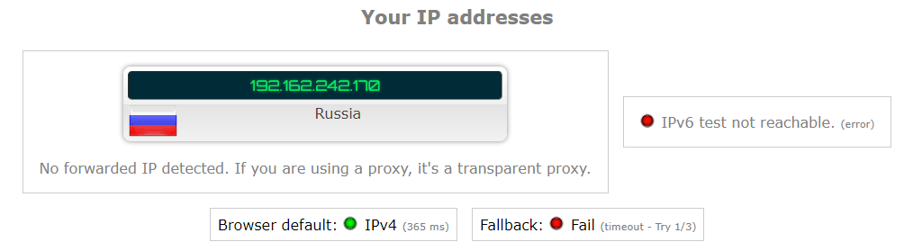 touch vpn ip leak test russia