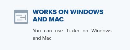 Tuxler VPN device compatibility
