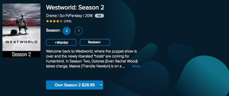 watch westworld online on vudu